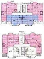 Пд4 и Пд4м - Планировка квартир в жилых домах серии пд4м