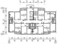 дома эко (М6-ЭКО) - Рядовая (торцевая) блок-секция серии М6-1/17 ( ЭКО ) широтной ориентации