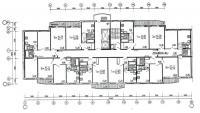 дома эко (М6-ЭКО) - Рядовая (торцевая) блок-секция дома серии М6-2/17 ( ЭКО ) меридиональной ориентации
