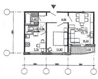 дома эко (М6-ЭКО) - Двухкомнатные квартиры домов серии эко