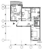 дома эко (М6-ЭКО) - Трёхкомнатные квартиры домов серии эко