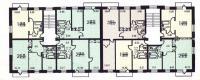 1-511/5 - планировка жилой секции в доме серии 1-511