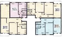 1605-09 - типовые планировки квартир 1605-09