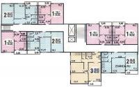 Серия П43, планировки квартир - типовые планировки квартир п 43