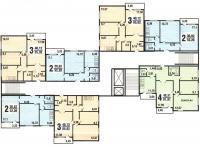 п-42 - Типовые планировки квартир п42