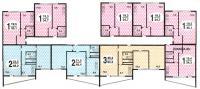 дома серии II-68-02 - типовые планировки квартир домов серии II-68-02