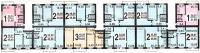 1-515/5 - типовые планировки квартир дома серии 1-515/5