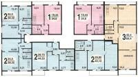 дома серии и209а - типовые планировки квартир и209а - однокомнатные двух и трёхкомнатные квартиры