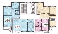 Дома серии П44, планировки квартир с размерами - типовые планировки квартир в жилых домах серии п 44