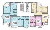 Дома серии п44т - типовые планировки квартир в жилых домах серии п44т