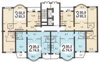 дома серии и-155 - Типовые планировки квартир в жилых домах серии и-155