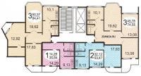 п3м - серии домов - типовые планировки квартир в жилых домах серии п 3м