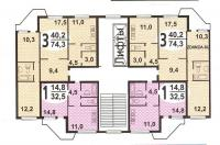 Пд4 и Пд4м - типовые планировки квартир в жилых домах пд 4