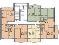 ПБ-02 - ПБ-02 типовые планировки квартир в жилой секции