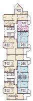 п3-м7 / 23 - п3-м7-21 планировка квартир в жилых домах серии