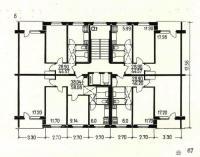 II-49 - Планировка квартир в жилых домах серии II-49