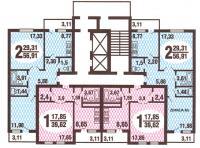 Дома ГМС-3 - Планировка квартир в жилых домах серии гмс-3