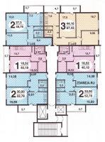 Москворецкая башня - планировки квартир в домах Москворецкая башня
