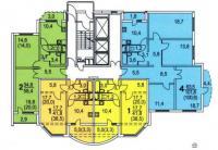 Копэ-М-Парус - КОПЭ-М-Парус планировки квартир