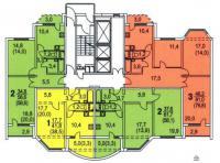 Копэ-М-Парус - КОПЭ-М-Парус планировки квартир в домах серии